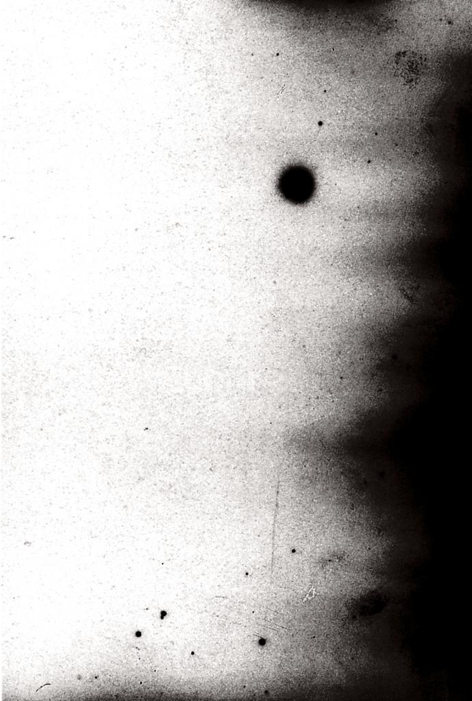 radioactive dust [negative]